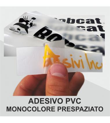 Adesivo Prespaziato PVC
